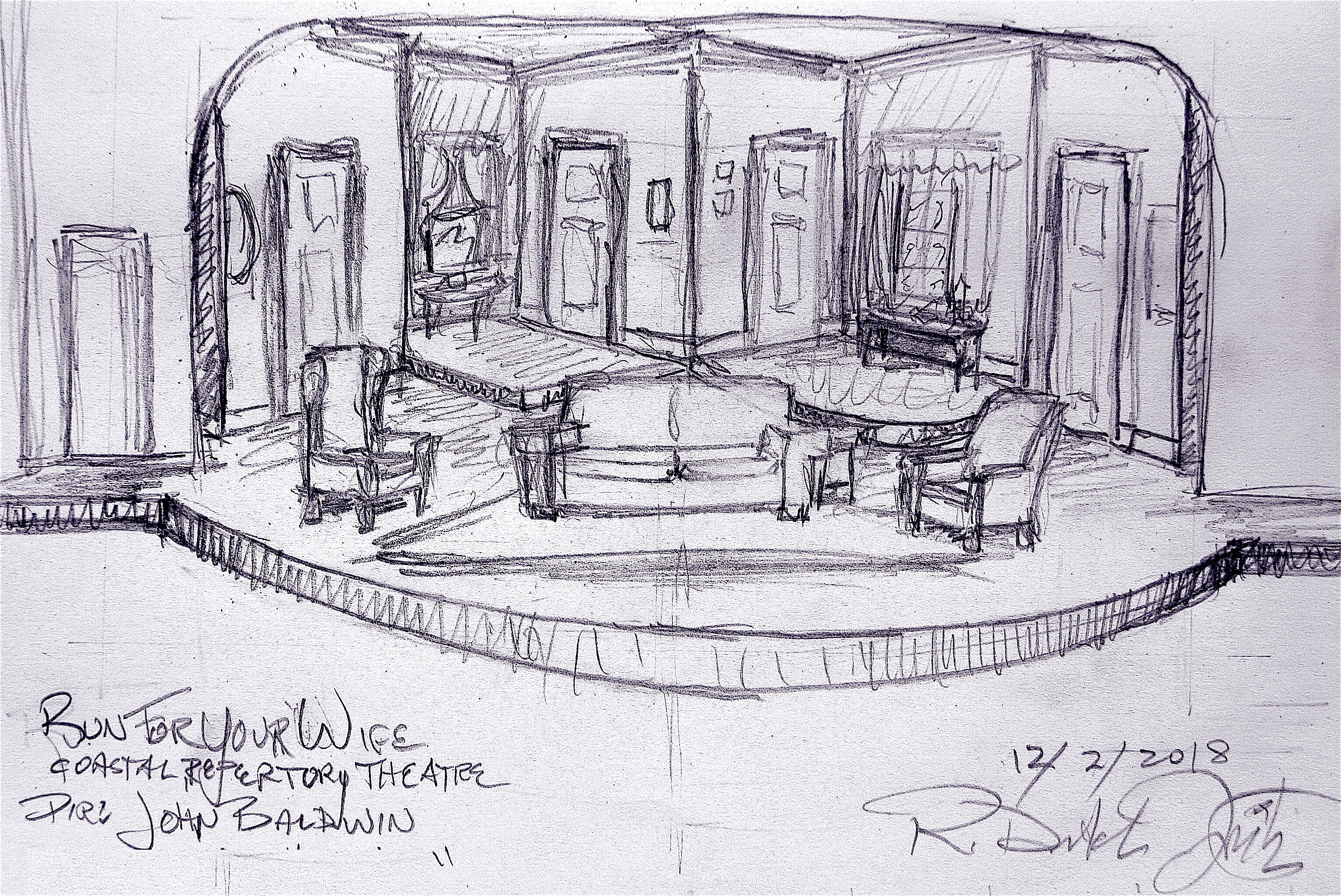 Original concept sketch
