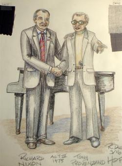 Richard Nixon 197& Tony Provenzano,