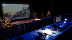Almost Maine: View from tech booth