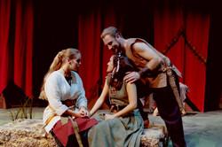 Helena, Lysander & Hermia