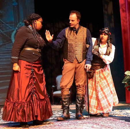 Mrs. French, Ruffing & Dolly, Act II