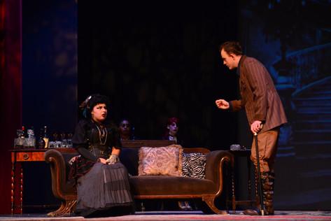 Ruffing interviews Mrs. Ravenscroft
