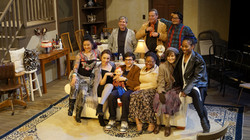 """Cast on set of """"Amateurs"""""""