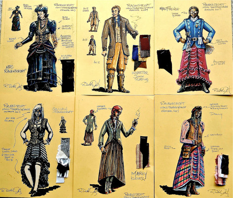Character Costume Plates