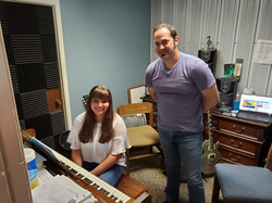 Jordan Nash At Her Piano Lesson With Ins