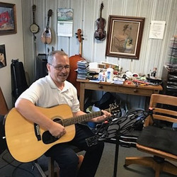 Billy Schwab at His Guitar Lessons Today