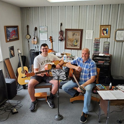 Andrew_Winfrey_at_His_Guitar_Lesson_toda