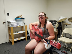 Emma Kilgo At Her Guitar Lesson Today Wi