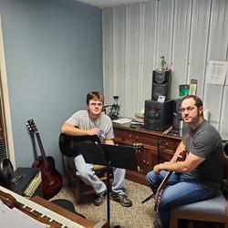 Tony Lancaster At His Guitar Lesson toda