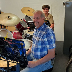 Kadon Whaley At His Drum Lesson Today Wi