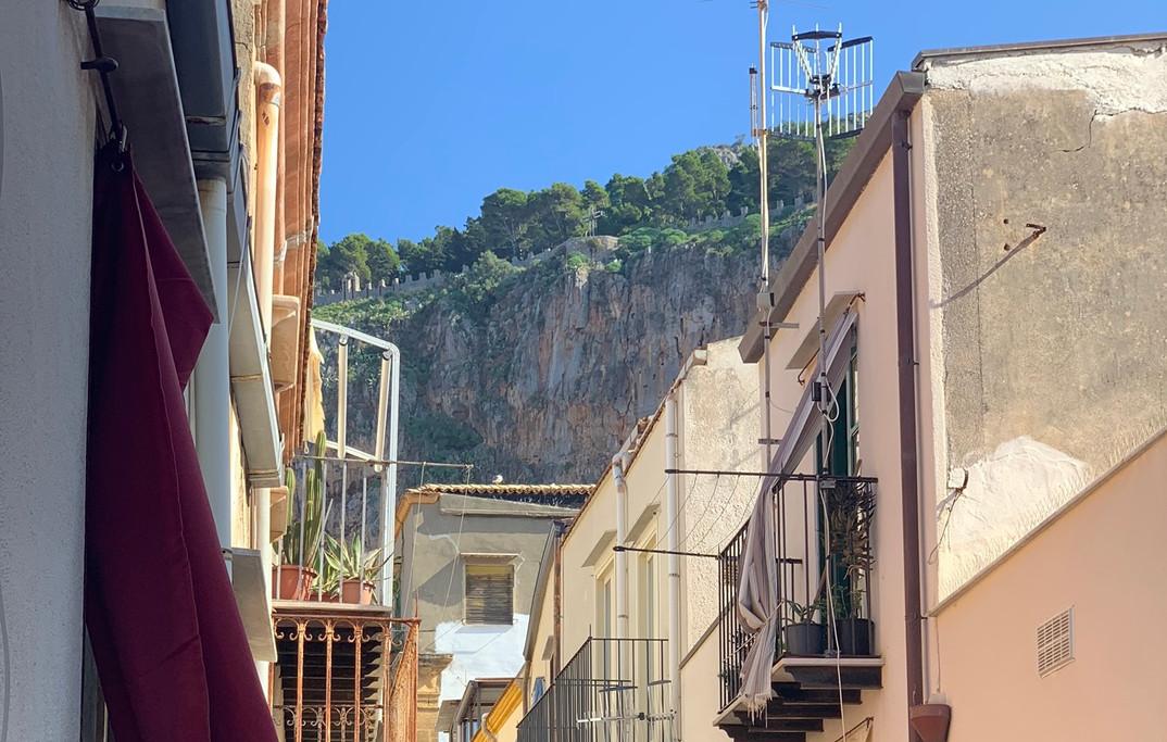 Bedroom view of La Rocca