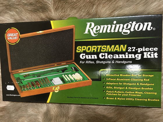 Remington  27pc cleaning kit