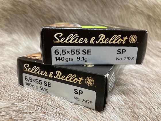 Sellier&Bellot 6.5x55  140gr