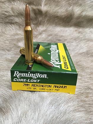 Remington  7mm rem mag 175gr