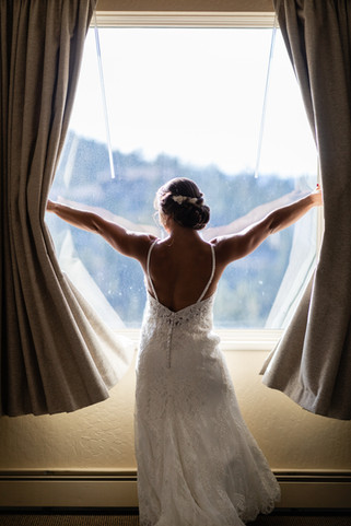 open window to your Big Day