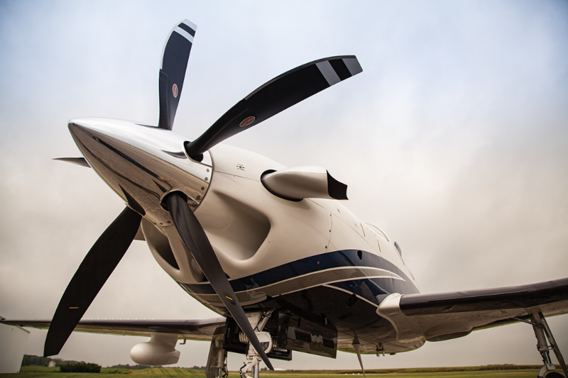 5-blade Hartzell Prop on Piper Meridian