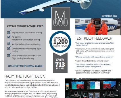Final Approach: Piper M600 Update