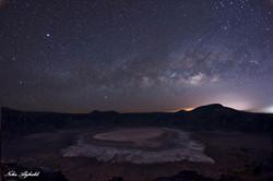 Al Wahbah crater in Saudi Arabia