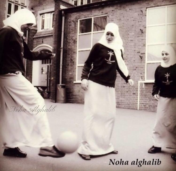 Muslim girls at school in London