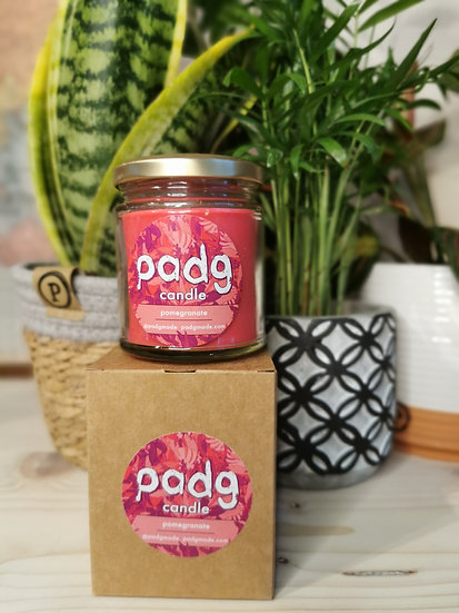 Pomegranate - Red padg candle