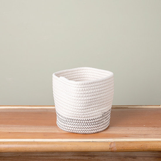 Petrichor Rope Basket Small