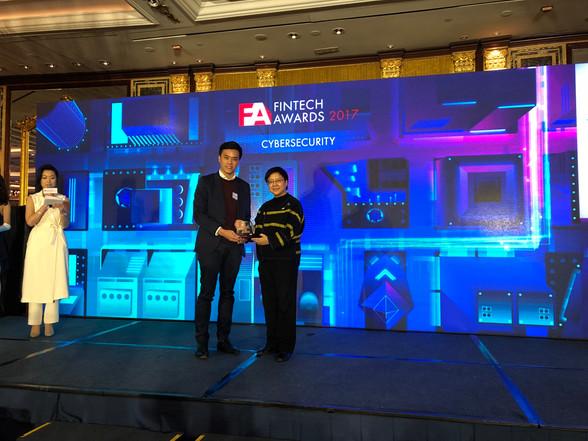 FINTECH AWARDS 2017/  金融科技獎項 2017