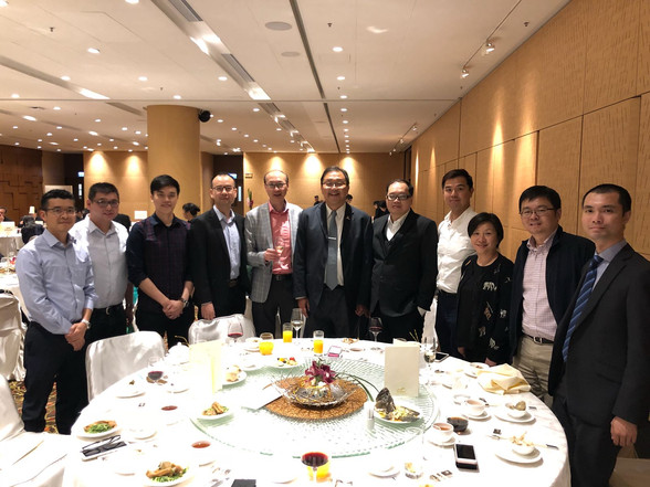 CEO出席 IT Division晚宴   CEO attended IT Division Dinner