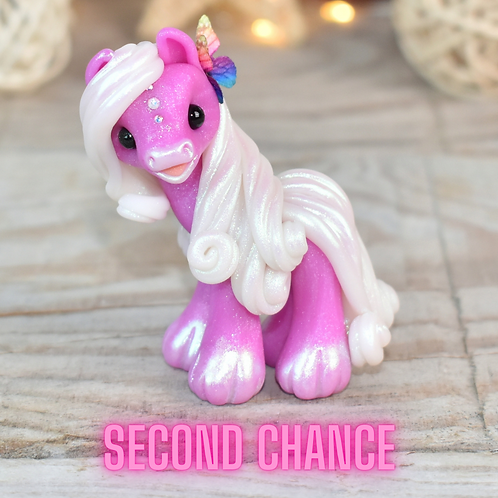 Noble - (Second Chance) - Handmade polymer clay pony