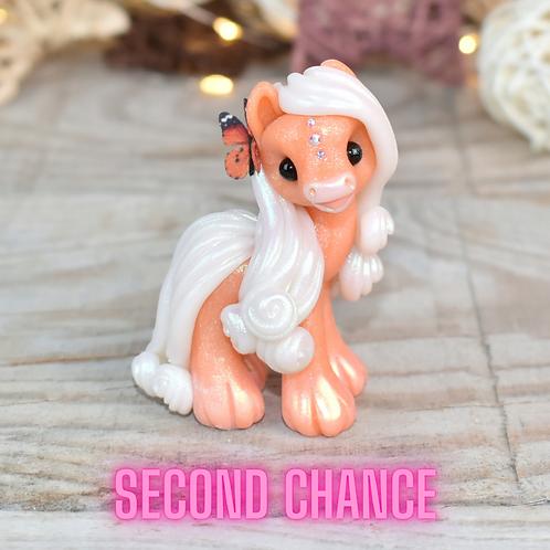 Optimistic - (Second Chance) - Handmade polymer clay pony
