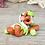 Thumbnail: Custard Apple - (Second Chance) - Handmade polymer clay pony - tiny size