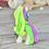 Thumbnail: Purple GITD - (Second Chance) - Handmade polymer clay pony