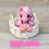 Thumbnail: Lifting Dreams - (Second Chance) - Handmade polymer clay pony - tiny size