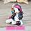 Thumbnail: February - (Second Chance) - Handmade polymer clay pony - tiny size