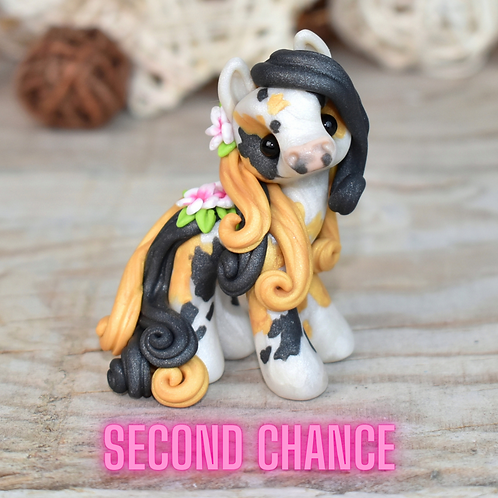 Anne - (Second Chance) - Handmade polymer clay pony