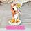Thumbnail: Orange - (Second Chance) - Handmade polymer clay pony - tiny size