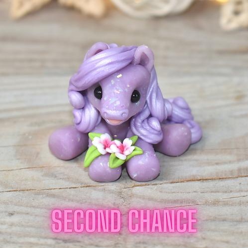 Bright - (Second Chance) - Handmade polymer clay pony