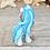 Thumbnail: Turquoise - (Second Chance) - Handmade polymer clay pony - tiny