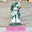Thumbnail: Malachite - (Second Chance) - Handmade polymer clay pony - tiny