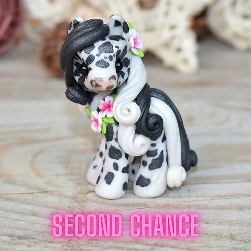 Marisol - (Second Chance) - Handmade polymer clay pony