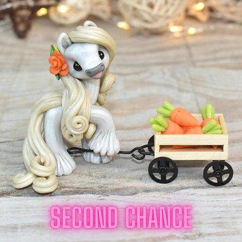 Sugar - (Second Chance) - Handmade polymer clay pony