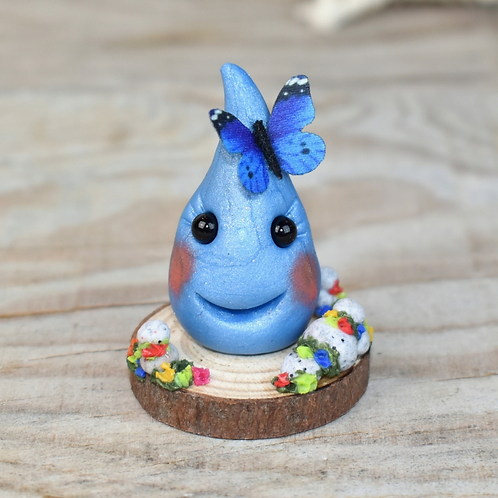 Happy Drop - Handmade with polymer clay