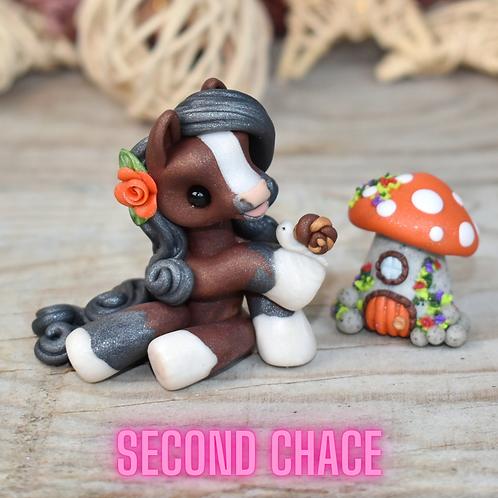 Maranda (Second Chance) - Handmade polymer clay pony