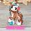 Thumbnail: December - (Second Chance) - Handmade polymer clay pony - tiny