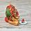 Thumbnail: Watermelon - (Second Chance) - Handmade polymer clay pony - tiny size