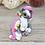 Thumbnail: June - (Second Chance) - Handmade polymer clay pony - tiny