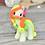 Thumbnail: Orange GITD - (Second Chance) - Handmade polymer clay pony