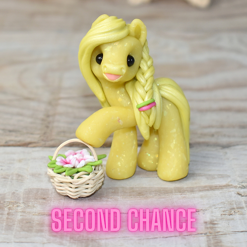 Dependable - (Second Chance) - Handmade polymer clay pony