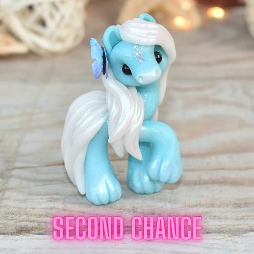 Calm - (Second Chance) - Handmade polymer clay pony