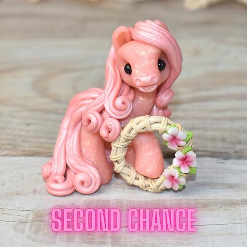 Loyal - (Second Chance) - Handmade polymer clay pony - tiny size