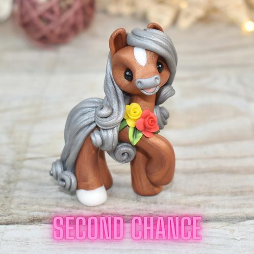 Kaine - (Second Chance) - Handmade polymer clay pony